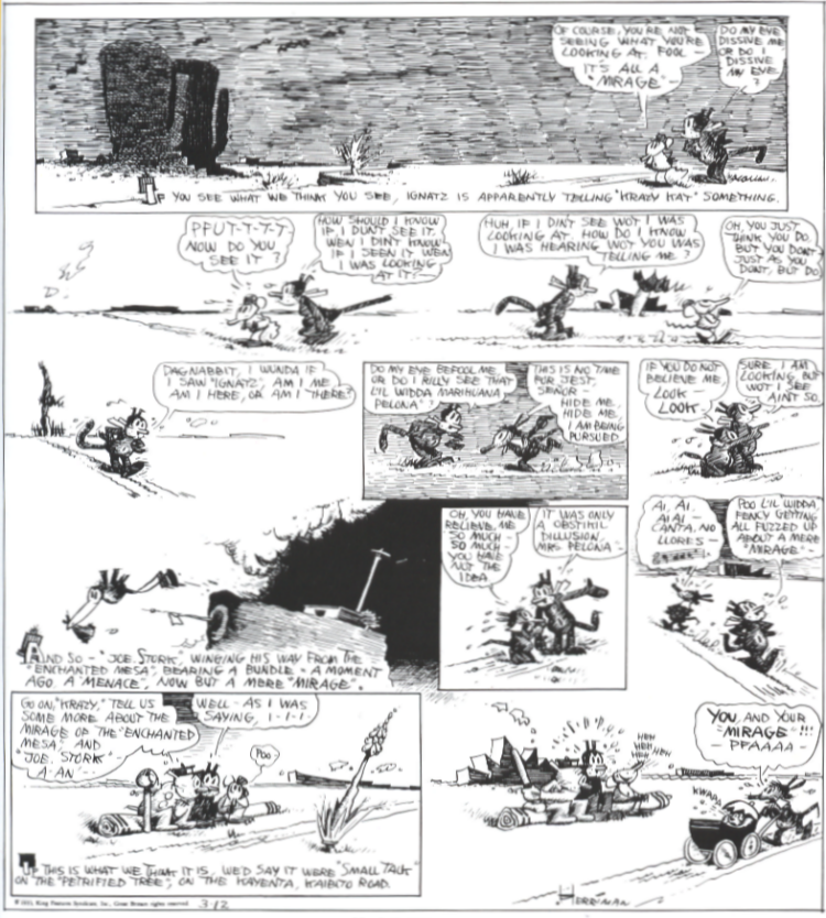 Krazy Kat, 12th Mar 1933
