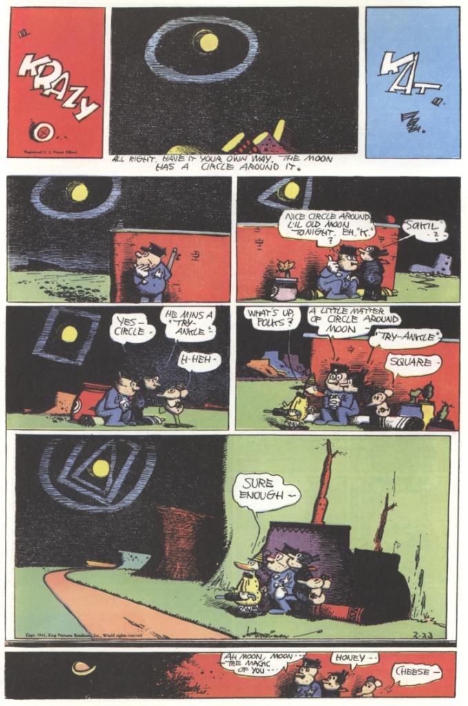 Krazy Kat, 23rd Feb 1941