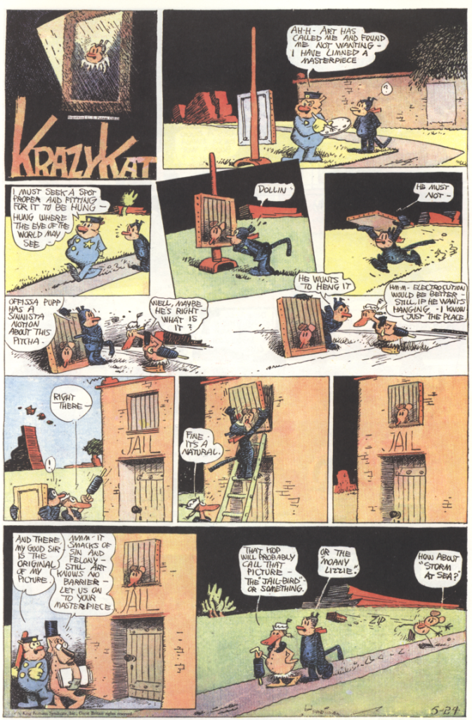 Krazy Kat, 28th May 1936