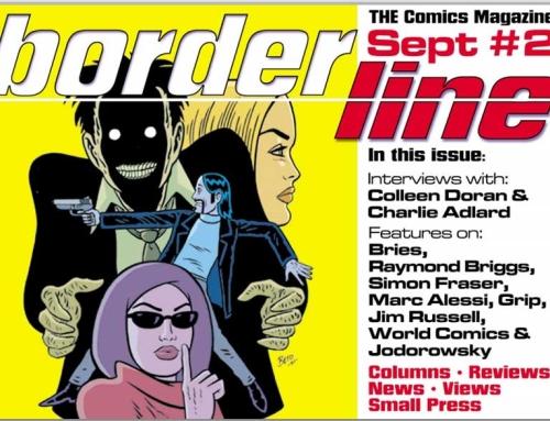 Borderline Comics Magazine: 'Jodorowsky's Nuts'