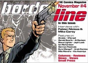 Borderline Comics Magazine issue 4 cover