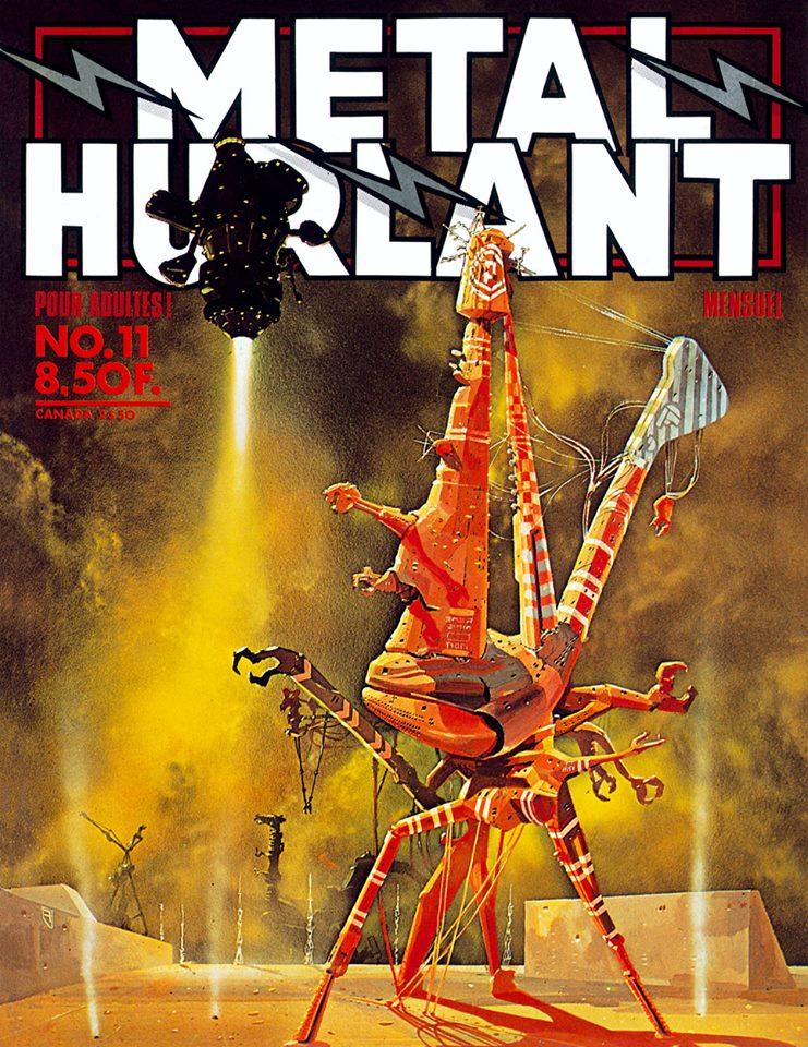 Métal Hurlant No. 11, Nov 1976