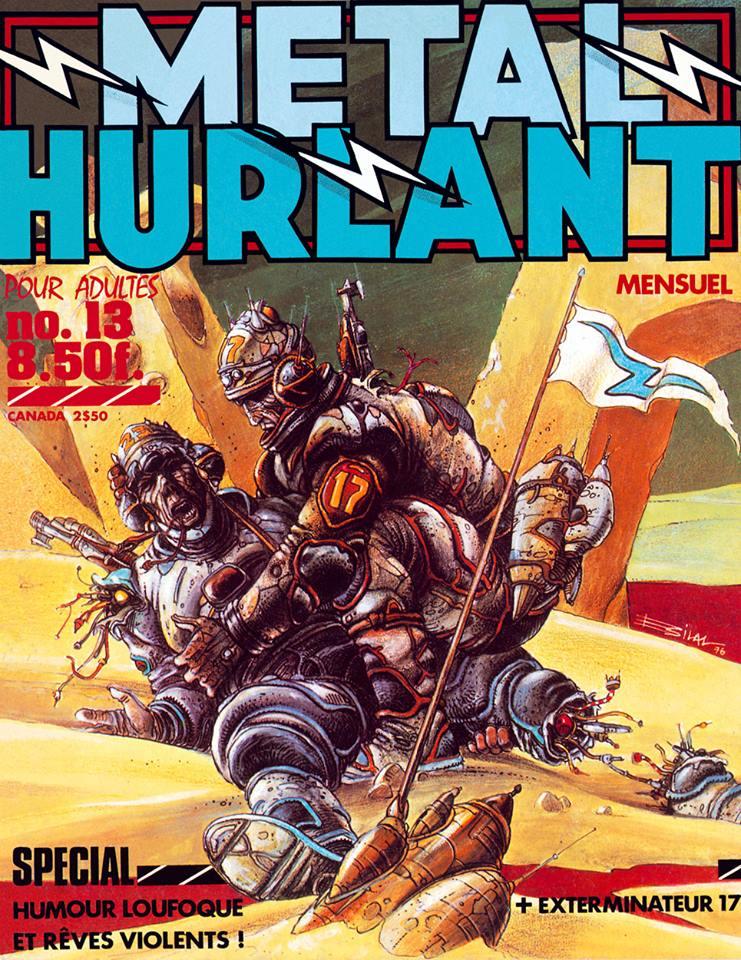 Métal Hurlant No. 13, Jan 1977