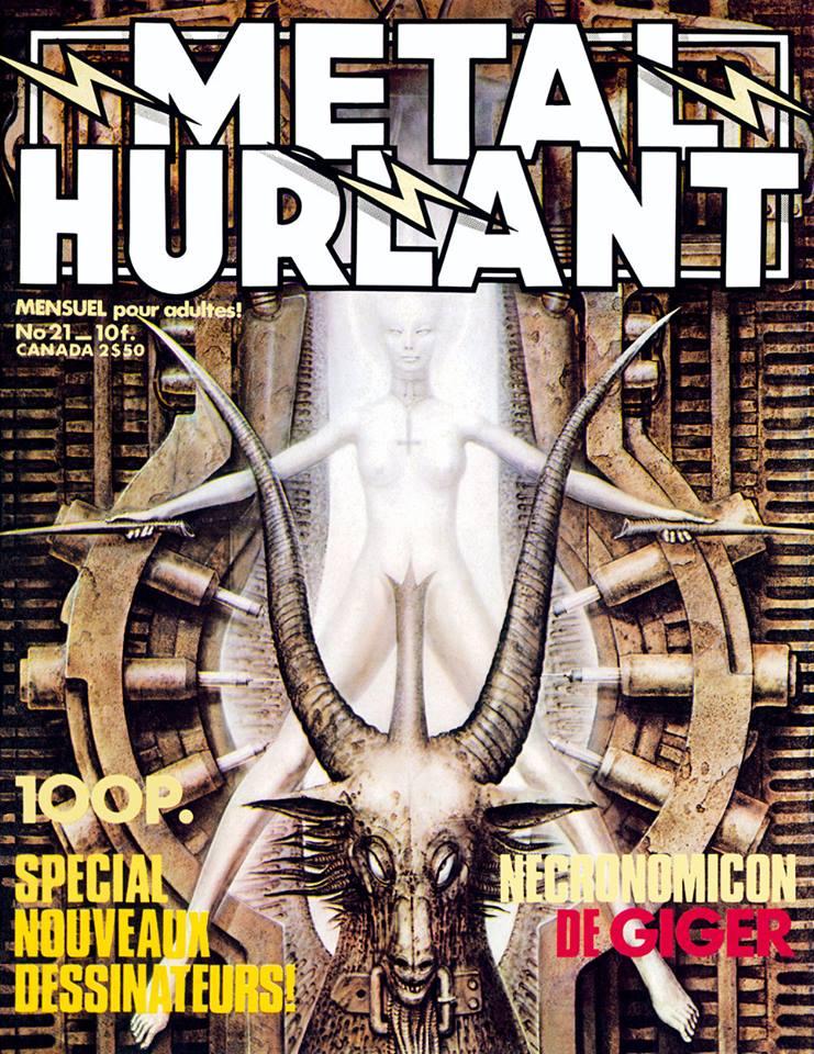 Métal Hurlant No. 21, Sept 1977