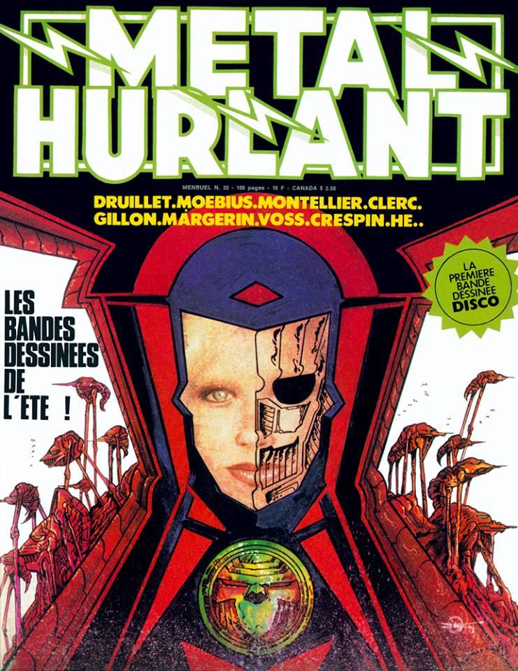 Métal Hurlant No. 32, Aug 1978