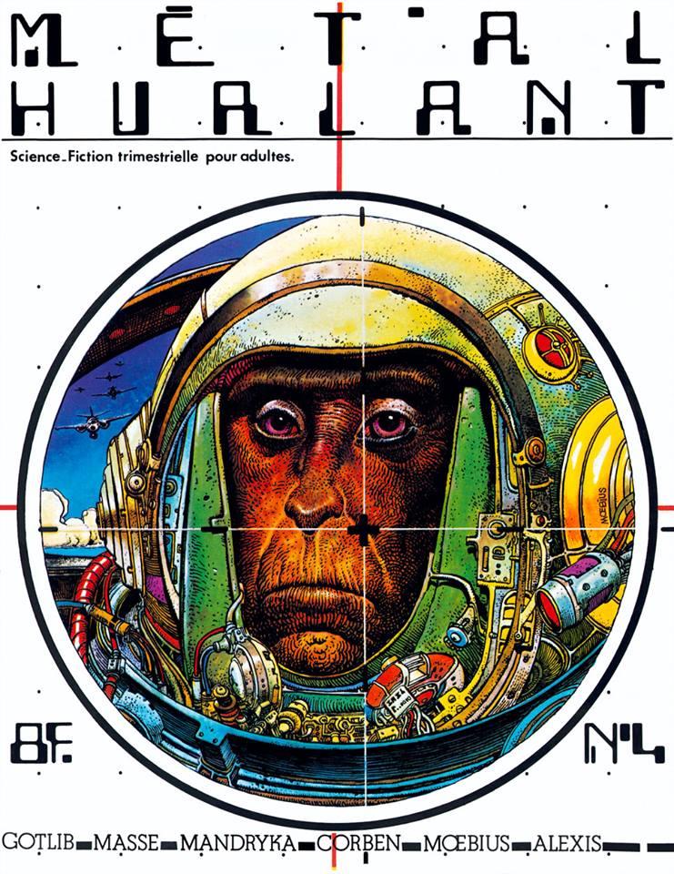 Métal Hurlant No. 4, Oct 1975
