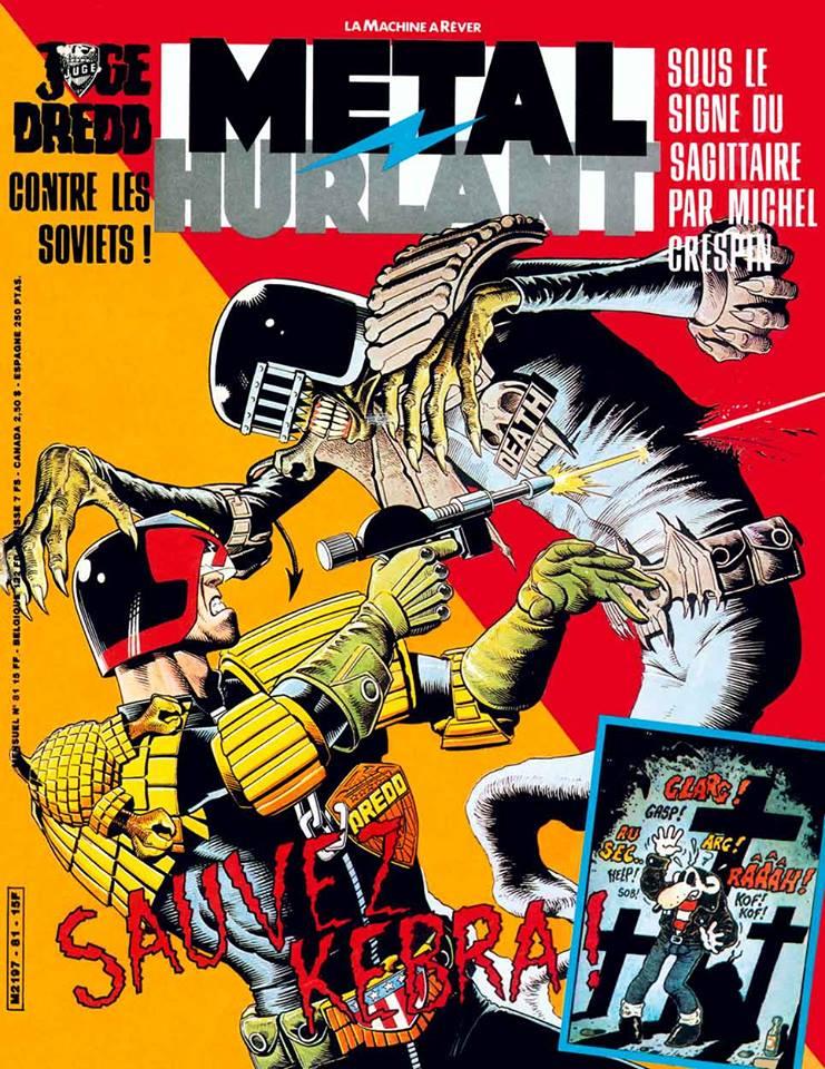 Métal Hurlant No. 81, Nov 1982
