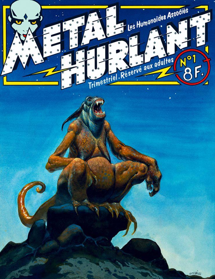 Métal Hurlant No. 1, Jan 1975