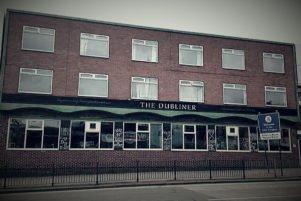 Dubliner pub in Digbeth Birmingham