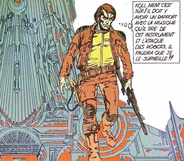 Lone Sloane by Phillipe Druillet (1972)