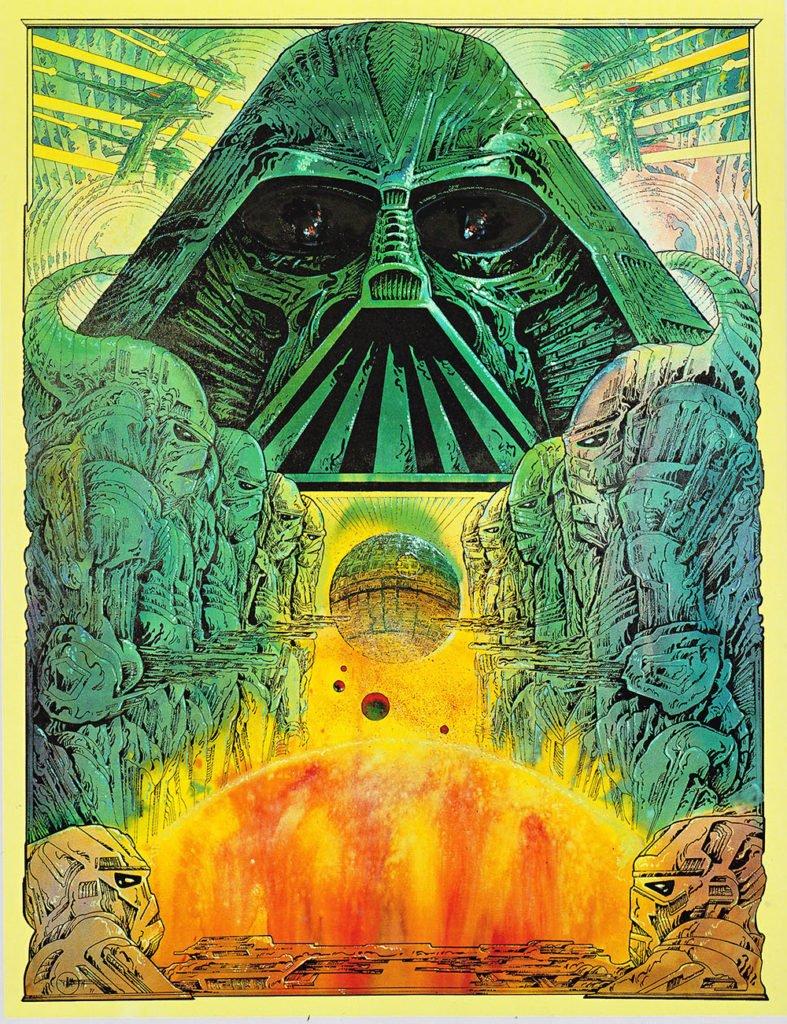 Star Wars poster by Phillipe Druillet (1977)