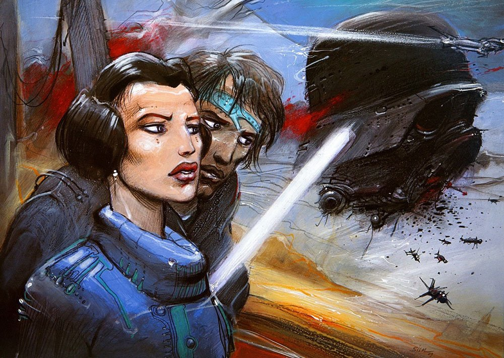 Never Ending Fight Against the Darkness by Enki Bilal