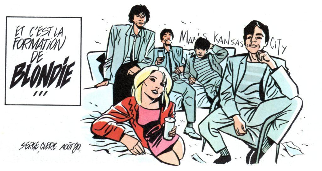 Blondie by Serge Clerc