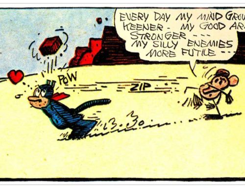 Krazy Kat: It Started with a Brick