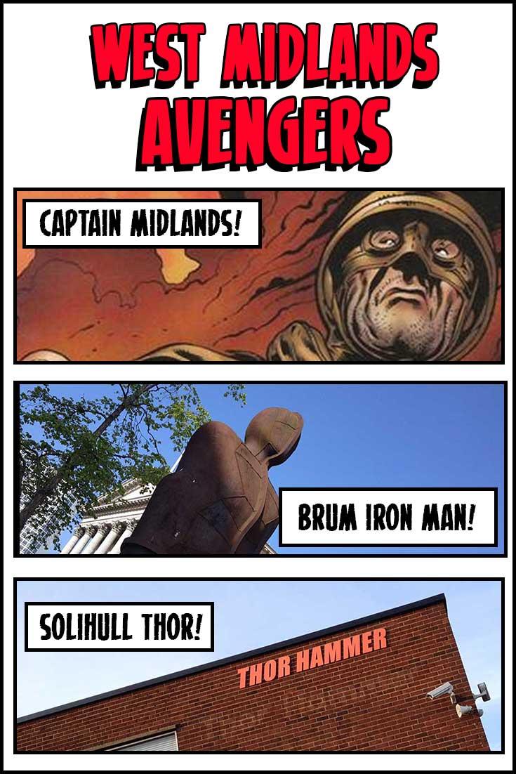 West Midlands Avengers: Shard Endgame