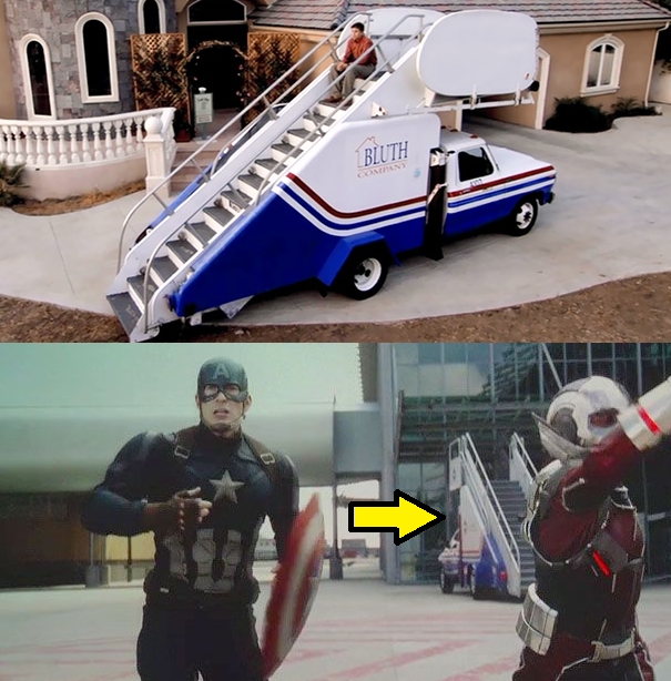 Arrested Development Staircar in Captain America Civil War